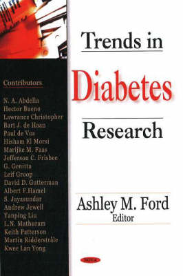 Trends in Diabetes Research (Hardback)