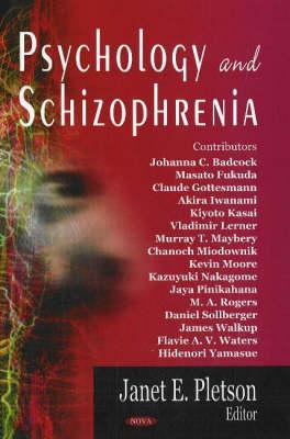Psychology & Schizophrenia (Hardback)