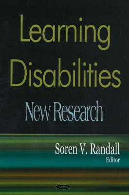 Learning Disabilities: New Research (Hardback)