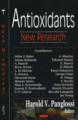 Antioxidants: New Research (Hardback)