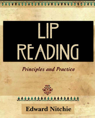 Lip-Reading (1912) (Paperback)