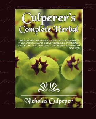 Culpeper's Complete Herbal (Paperback)
