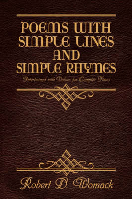 Poems with Simple Lines and Simple Rhymes (Paperback)