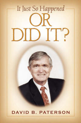 It Just So Happened (Paperback)