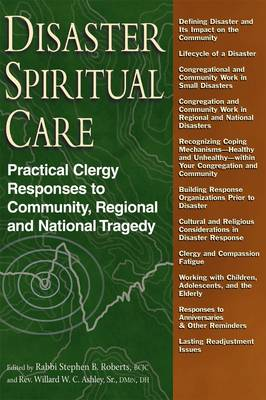 Disaster Spiritual Care: Practical Clergy Responses to Community, Regional and National Tragedy (Hardback)