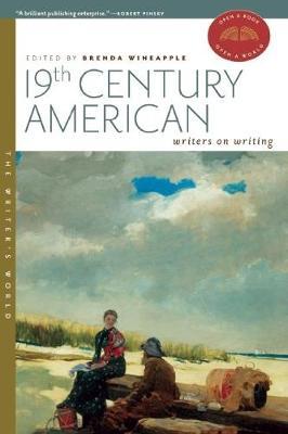 19th Century American Writers on Writing - Writer's World (Paperback)