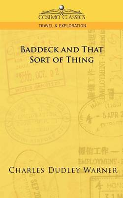 Baddeck and That Sort of Thing - Cosimo Classics Travel & Exploration (Paperback)