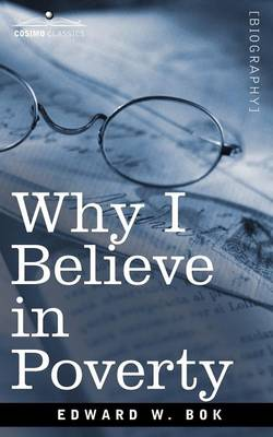 Why I Believe in Poverty Including, Two Persons (Paperback)