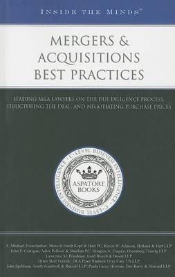 Mergers & Acquisitions Best Practices - Inside the Minds (Paperback)