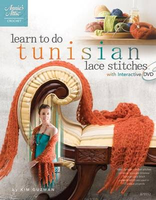Learn to do Tunisian Lace Stitches: With Interactive DVD (Paperback)