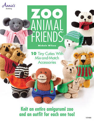 Zoo Animal Friends: 10 Tiny Cuties with Mix and Match Accessories (Paperback)
