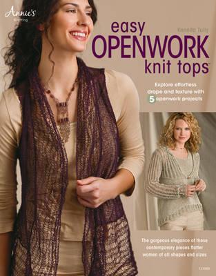 Easy Openwork Knit Tops (Paperback)