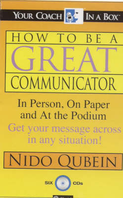 How be Great Communicator - Your Coach in a Box S. (CD-Audio)