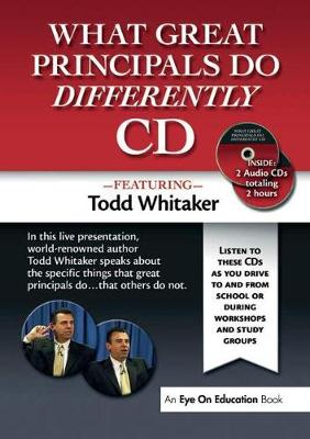 What Great Principals Do Differently (CD-Audio)