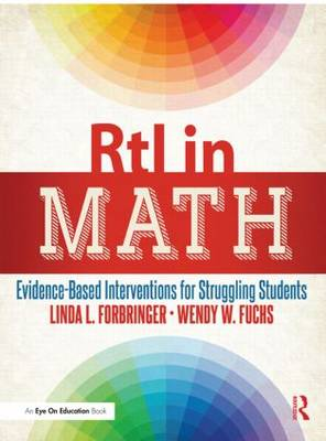 RtI in Math: Evidence-Based Interventions for Struggling Students (Paperback)