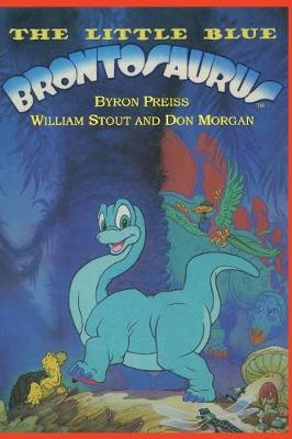 The Little Blue Brontosaurus (Hardback)