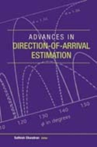 Advances in Direction-of-Arrival Estimation (Hardback)