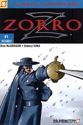 Zorro #1: Scars! (Paperback)