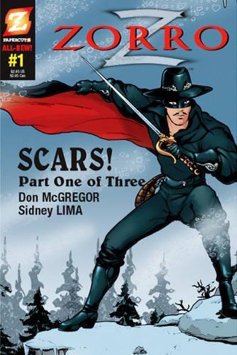 Zorro #1: Scars! (Hardback)
