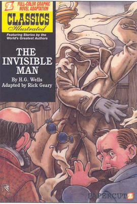 Classics Illustrated: The Invisible Man (Hardback)