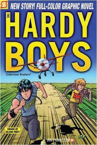 Hardy Boys 19: Chaos at 30,000 Feet! (Paperback)