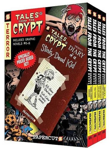 Tales from the Crypt Boxed Set: Vol. #5 - 8 (Paperback)
