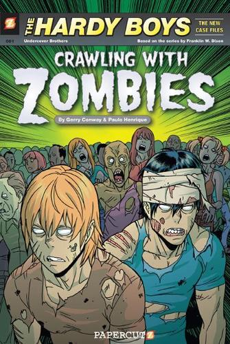 Hardy Boys #1: Crawling with Zombies (Paperback)