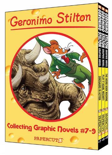 Geronimo Stilton Boxed Set Vol. #13-15 (Hardback)