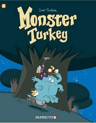 Monster Graphic Novels: Monster Turkey (Hardback)