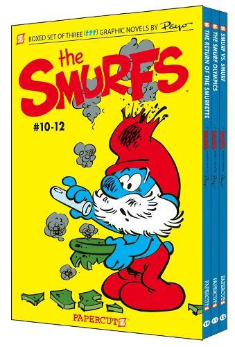 Smurfs Graphic Novels Boxed Set: Vol #10-12 (Paperback)