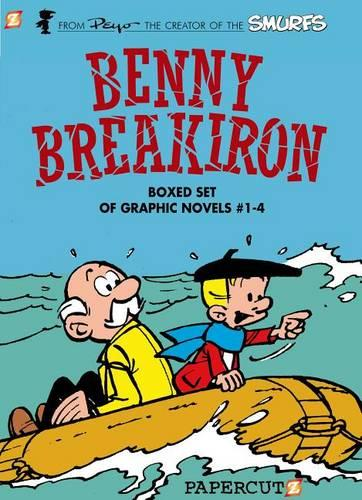 Benny Breakiron Boxed Set: Vol. #1-4 (Hardback)
