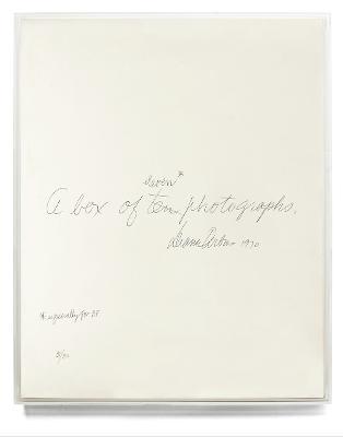 Diane Arbus: A Box of Ten Photographs (Hardback)