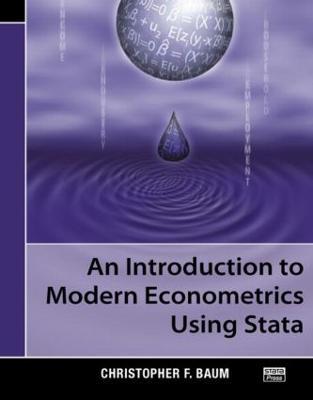 An Introduction to Modern Econometrics Using Stata (Paperback)