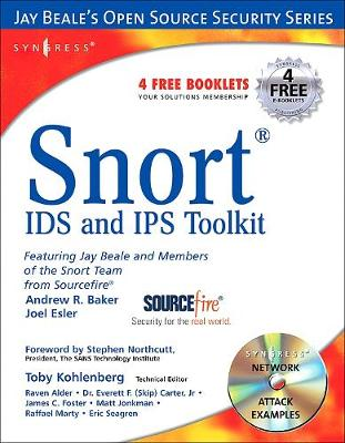 Snort Intrusion Detection and Prevention Toolkit (Paperback)