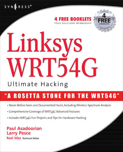 Linksys WRT54G Ultimate Hacking (Paperback)