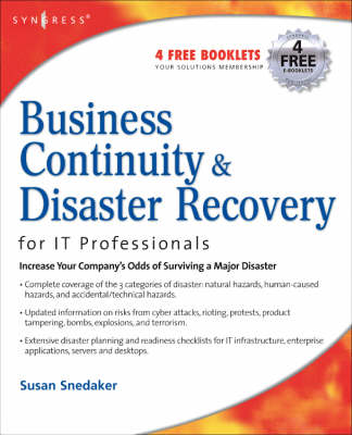 Business Continuity and Disaster Recovery Planning for IT Professionals (Paperback)