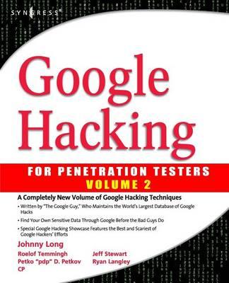 Google Hacking for Penetration Testers (Paperback)