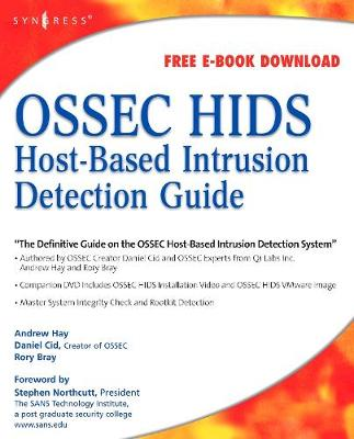 OSSEC Host-Based Intrusion Detection Guide (Paperback)