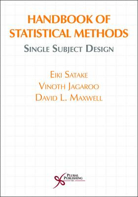 Handbook of Statistical Methods: Single Subject Design