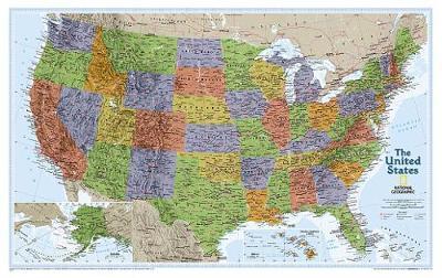 United States Explorer, Laminated: Wall Maps U.S. (Sheet map)