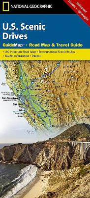 Scenic Drives USA: State Guide Maps (Sheet map, folded)