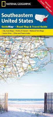 Southeastern USA: State Guide Maps (Sheet map, folded)