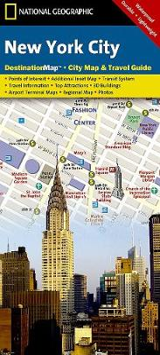 New York City: Destination City Maps (Sheet map, folded)