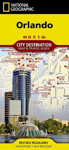 Orlando: Destination City Maps (Sheet map, folded)