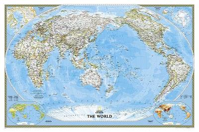 World Classic, Pacific Centered, Tubed: Wall Maps World (Sheet map, rolled)