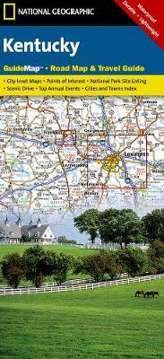Kentucky: State Guide Maps (Sheet map, folded)