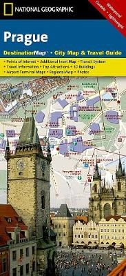 Prague: Destination City Maps (Sheet map, folded)