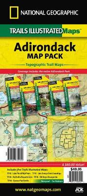Adriondack Park, Map Pack Bundle: Trails Illustrated Other Rec. Areas (Sheet map, folded)