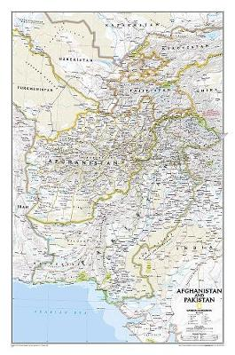 Afghanistan/pakistan, Tubed: Wall Maps Countries & Regions (Sheet map, rolled)