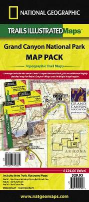 Grand Canyon National Park, Map Pack Bundle: Trails Illustrated National Parks (Sheet map, folded)